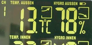 Langzeitmessungund Langzeitspeicherung mit Hygrometer Datenlogger