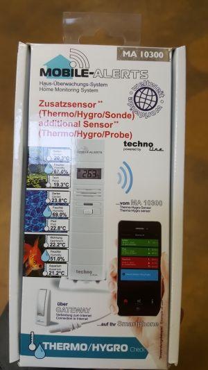 Funk-Hygrometer, Außensensor, Sensor