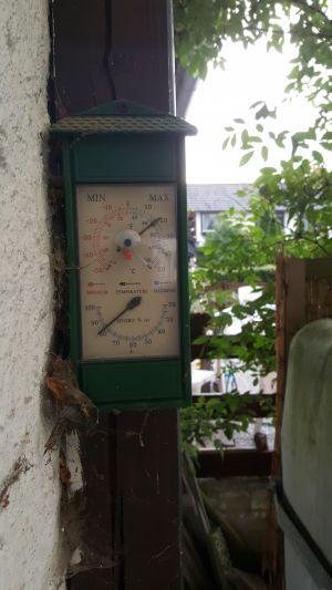 hygrometer einstellen