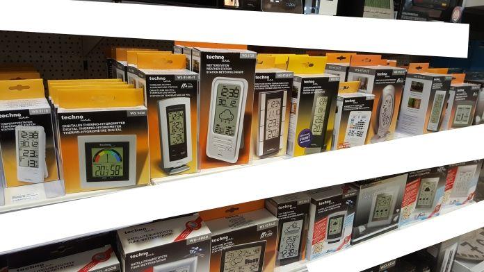 Hygrometer kaufen. Digital oder Analog? Im Baumarkt gibt es viel Auswahl.